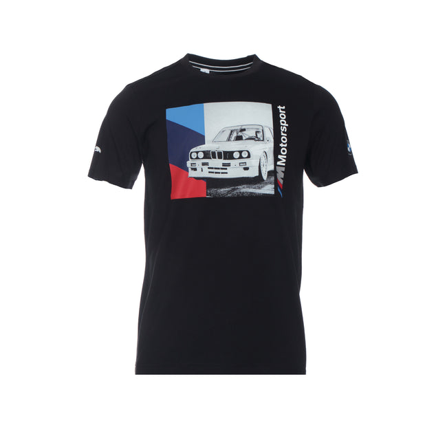 Puma X BMW M Motorsport Men's Graphic Tee Black