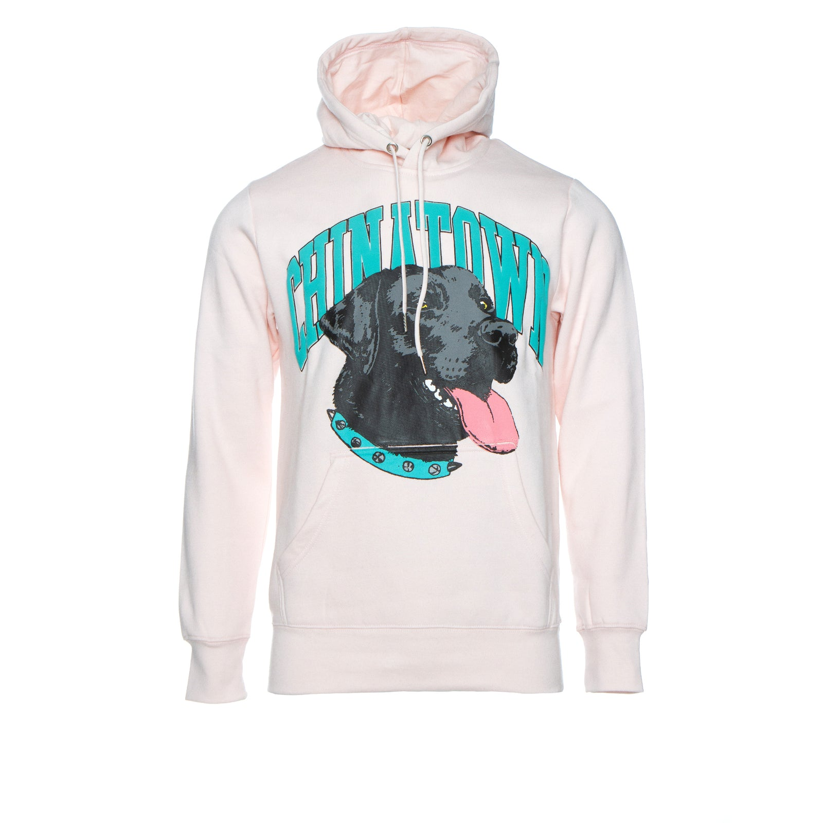 Chinatown Market Good Boy Men's Graphic Hoodie Pink