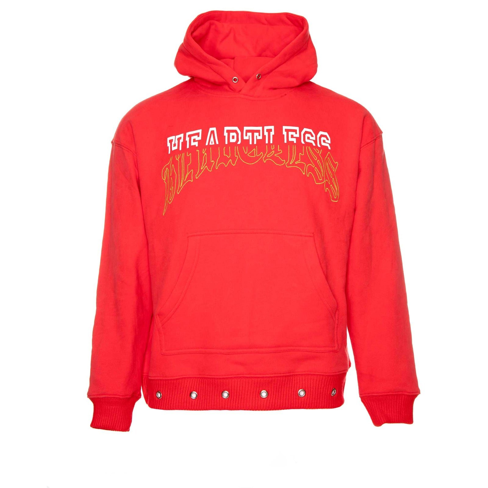Lifted Anchors Young Split Graphic Hoodie Red