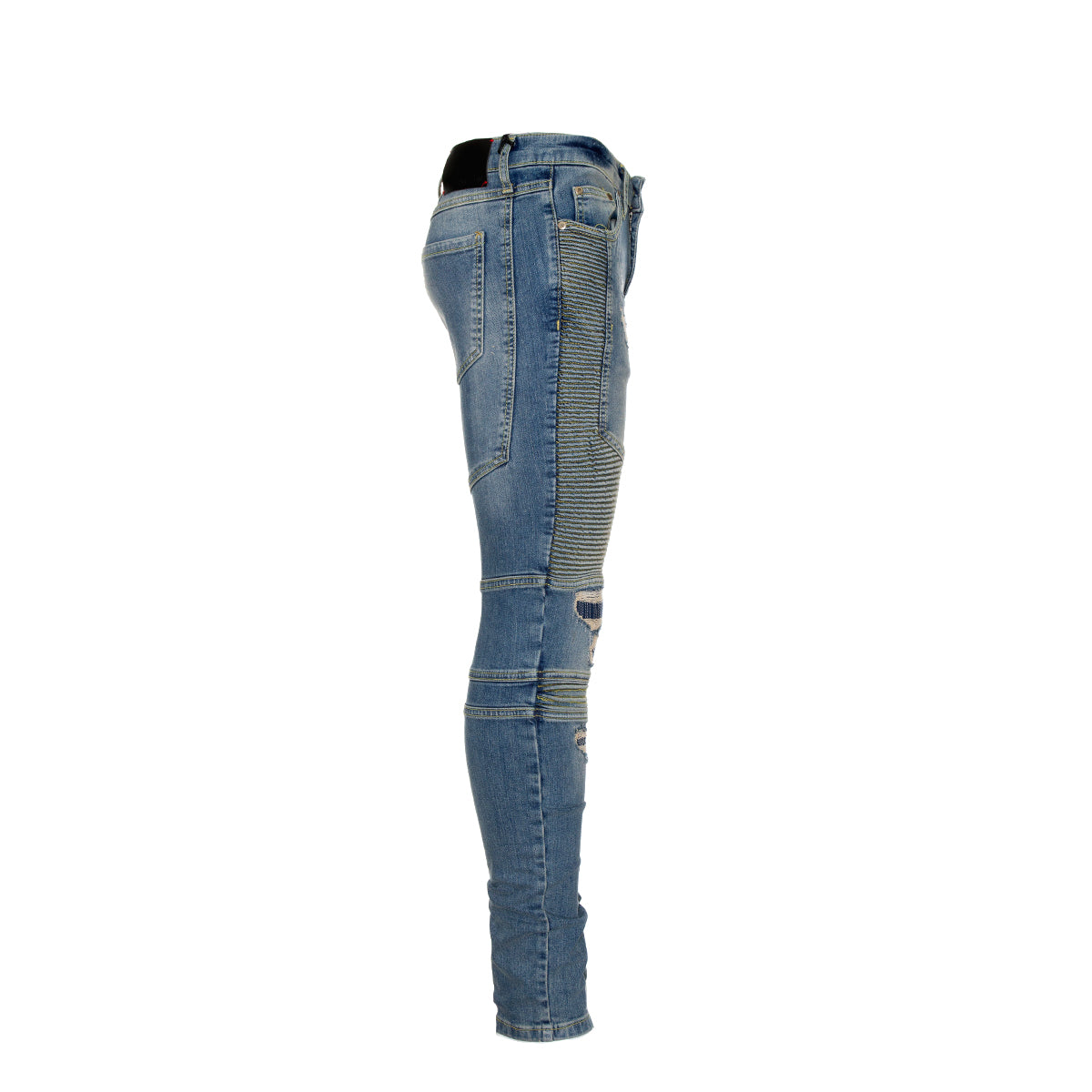 NEW Represent Biker Denim in Sand Blue