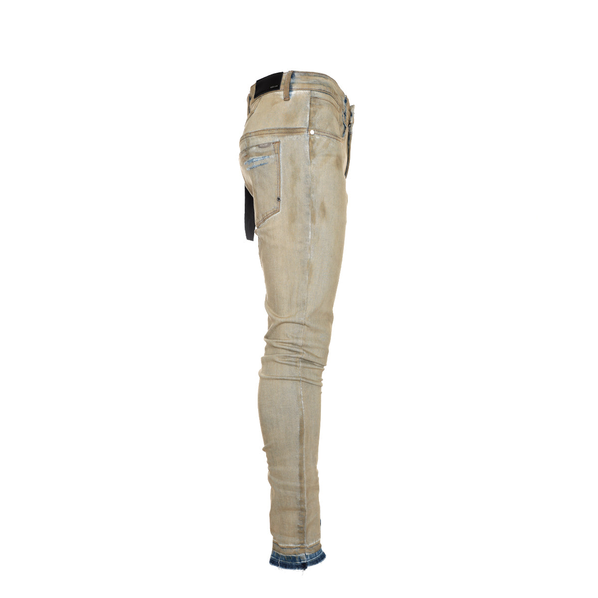 Kollar Destroyed Sand Men's Skinny Jeans
