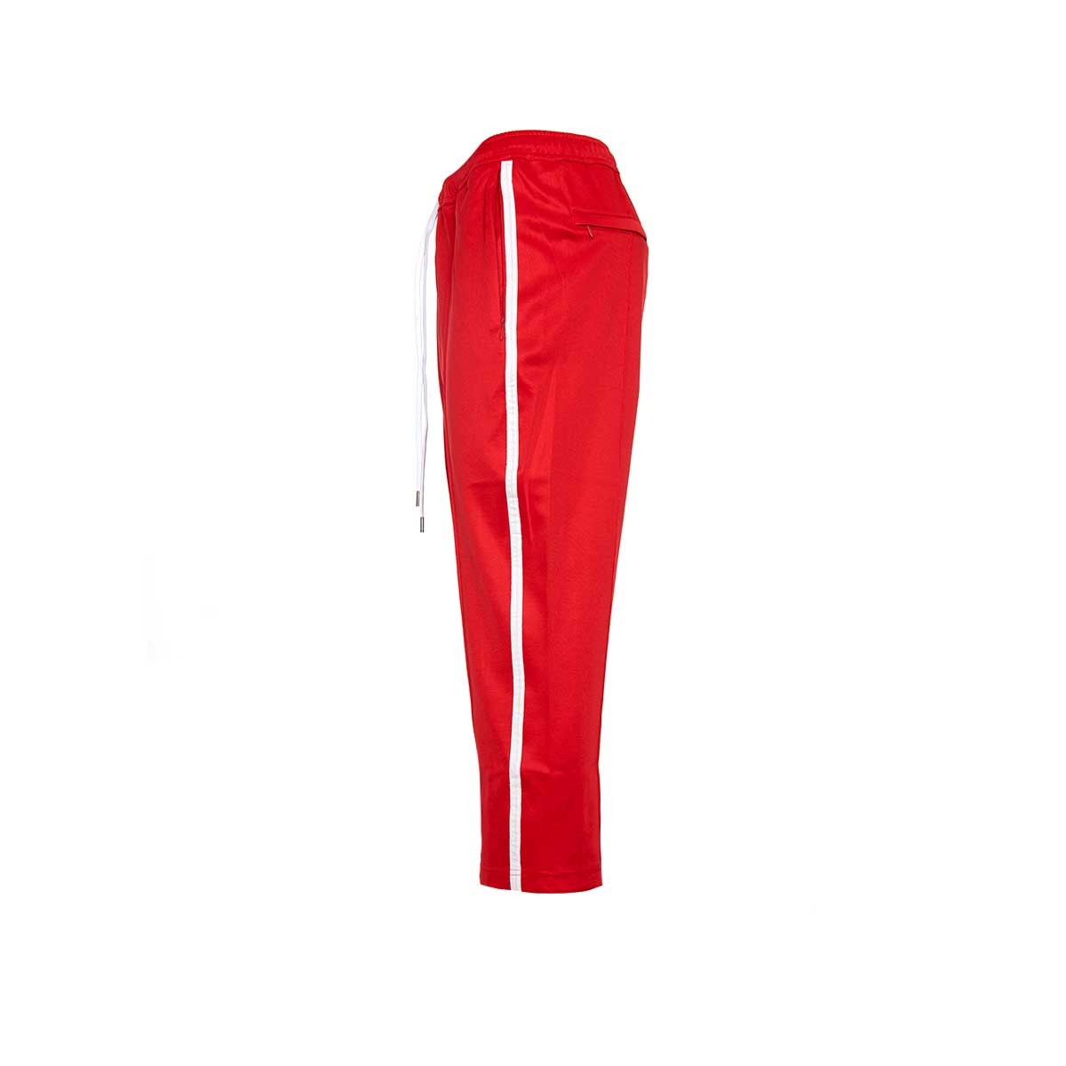 STAMPD Cropped Track Pant Red