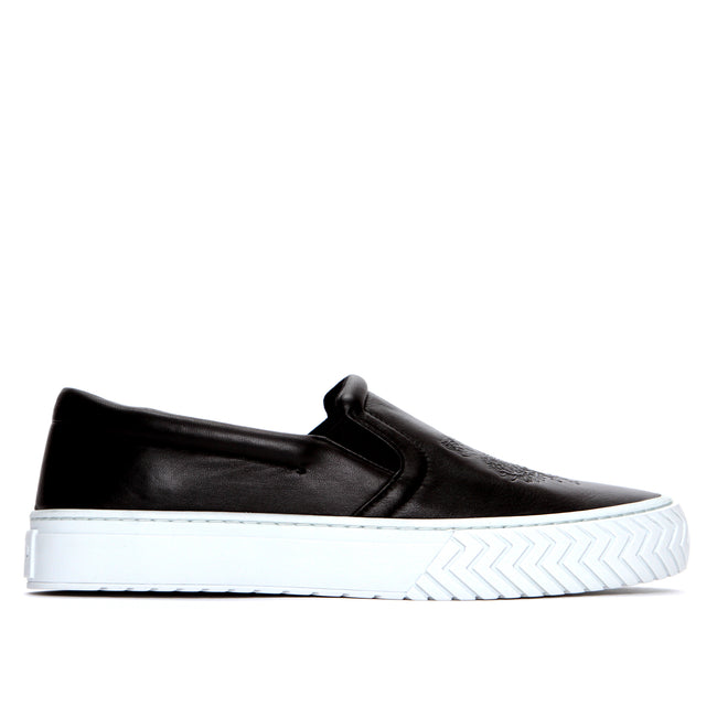 K-Slate Leather Slip On Sneaker