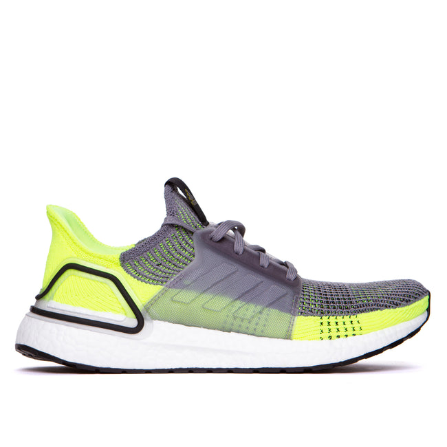 Adidas Originals Ultraboost 19 Men's Running Shoes Neon Green/Grey