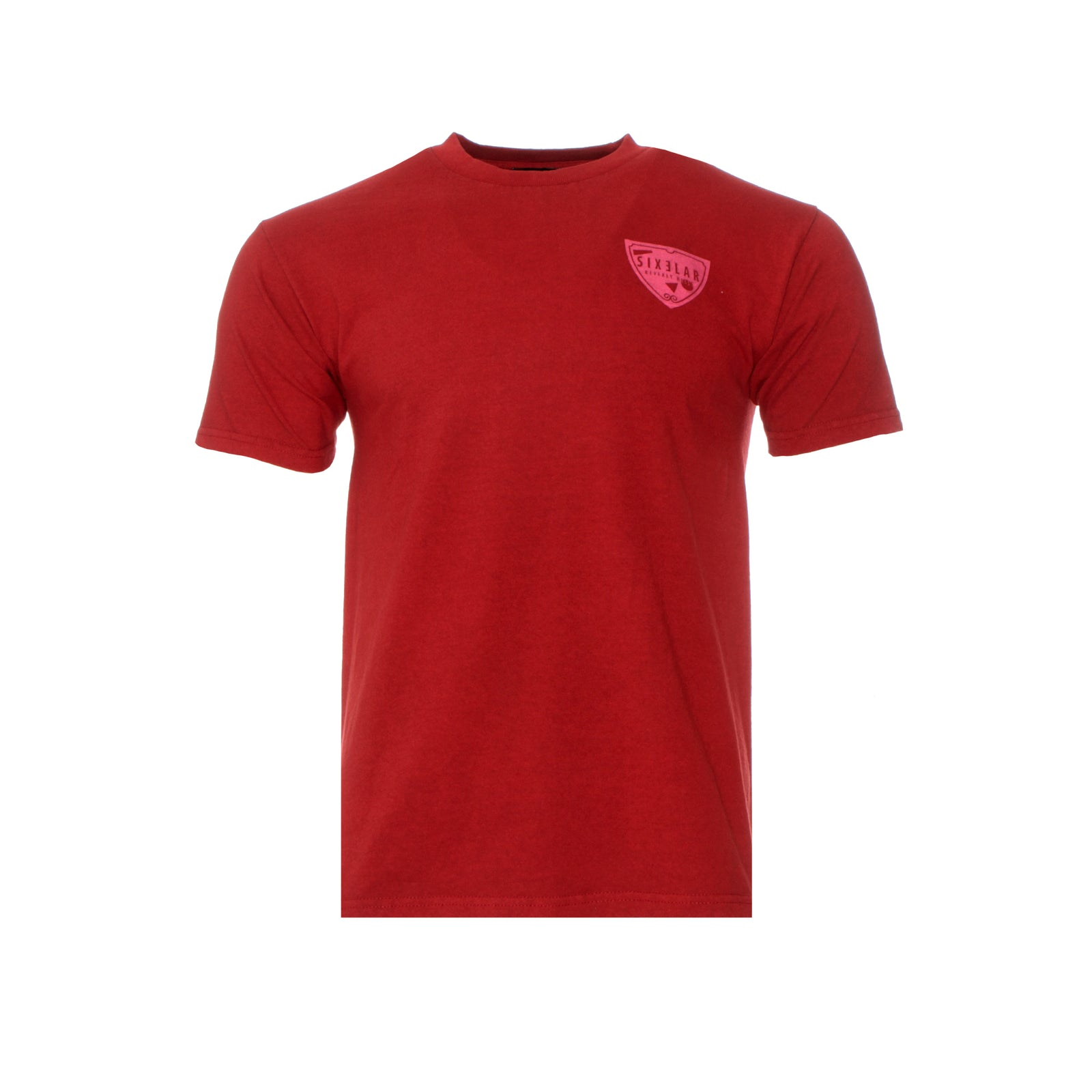 Sixelar Mau Red SS Men's Graphic Tee Red