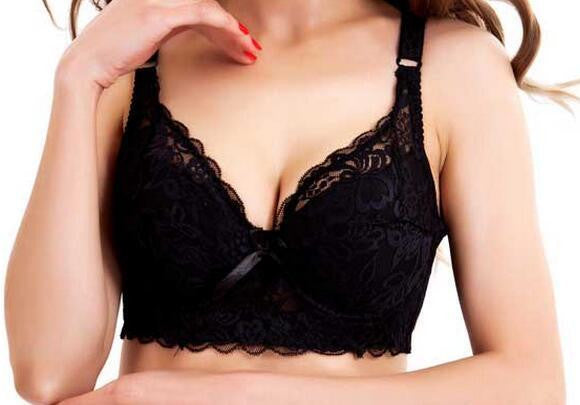 a557fb1d70bfb Hot Full cup thin underwear small bra plus size wireless adjustable bra  breast reduction cover B C D