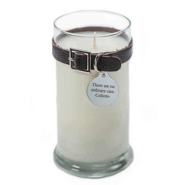 Maggie's Light ™ Cat Memorial Candle - 21oz Drk Brown (Rolling in Grass)
