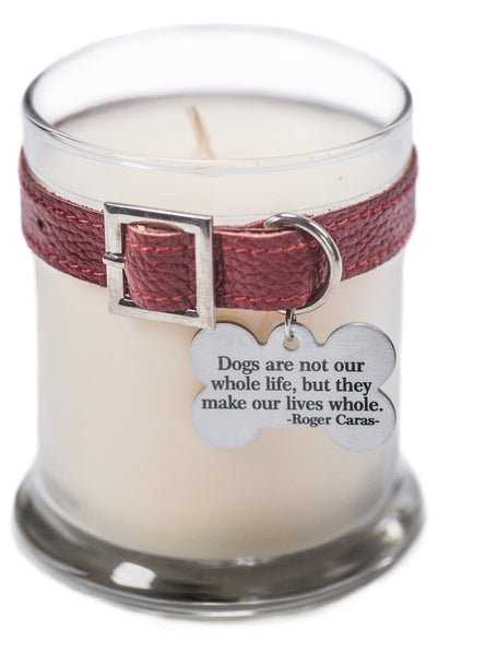 Dog Memorial Candle