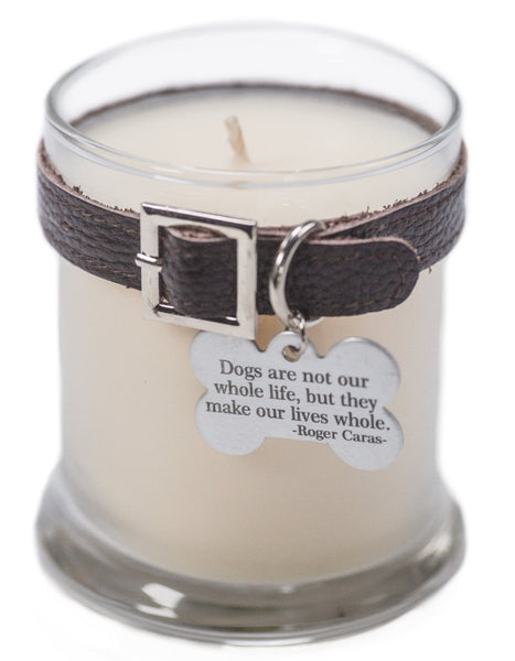 Maggie's Light ™ Memorial Candle (Dog) - 12.5 oz - Dk Brown