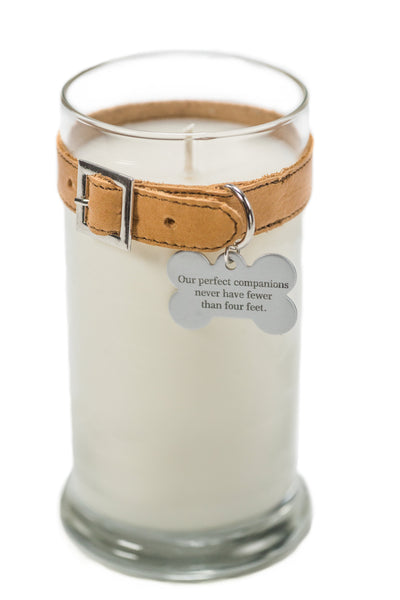 Maggie's Light ™ Memorial Candle (Dog) - 21 oz - Tan