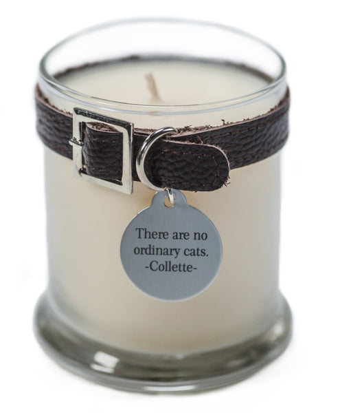 Maggie's Light ™ Cat Memorial Candle - Drk Brown (Daffodil)