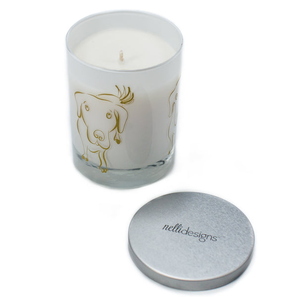 Dog Lover Gift Candle