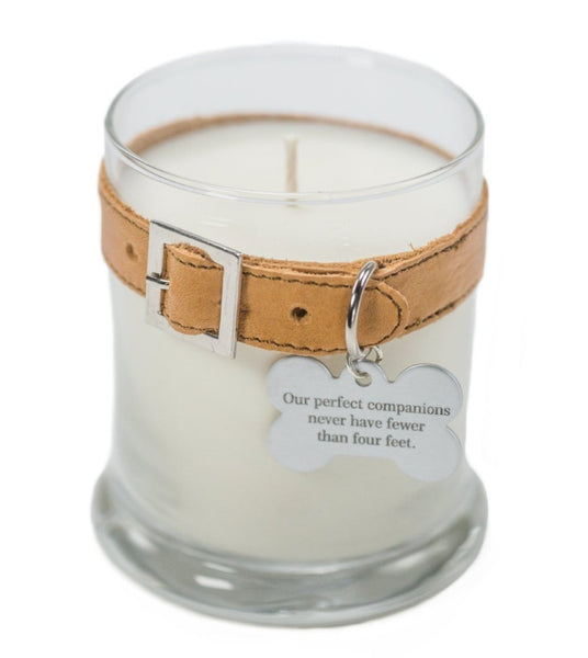 Maggie's Light ™ Memorial Candle (Dog) - 12.5 oz - Tan