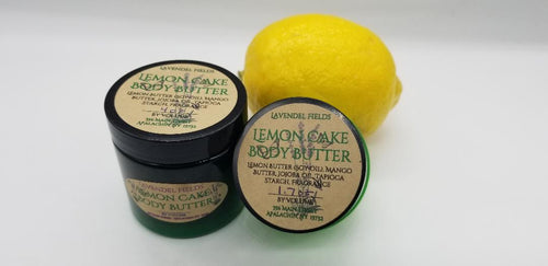 Body Butter Lemon Cake