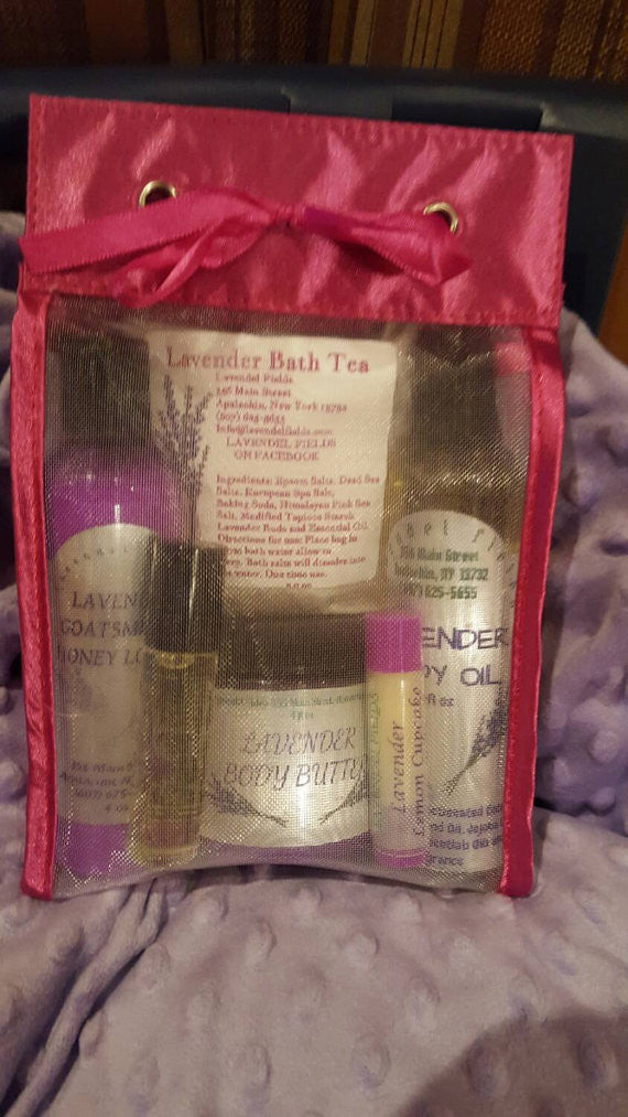 Lavender Winter Relief Gift Set