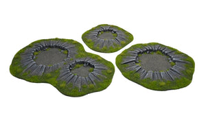 EXPLOSION CRATERS SET 3 pc