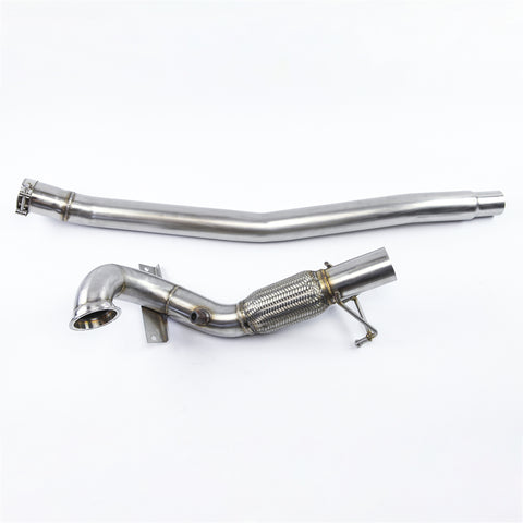 VW MK7 Golf R 2.0T Downpipe 2015-2017