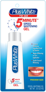 Plus White 5-Minute To-Go Speed Whitening Gel