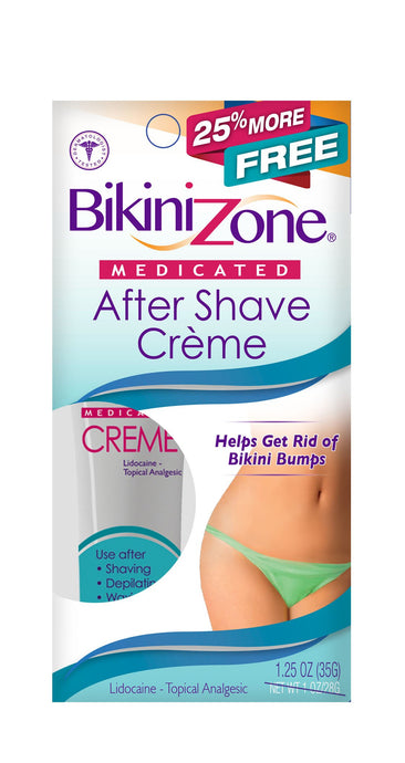 Bikini Zone After-Shave Crème - 25% More