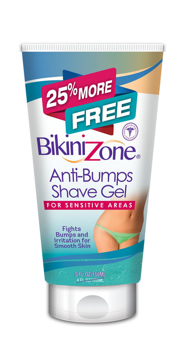 Bikini Zone Anti-Bumps Shave Gel - 25% More