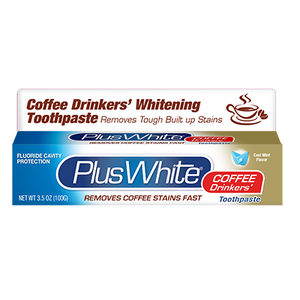 Plus White Coffee Drinkers' Toothpaste