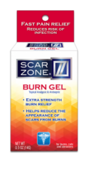 Scar Zone Burn Gel .50 oz