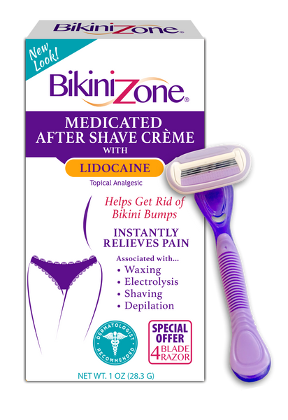 Bikini Zone Medicated Plus