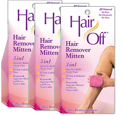 Hair Off Hair Removal Mitten