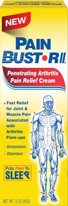 Pain Bust-RII Specially formulated cream for Arthritis Pain Relief