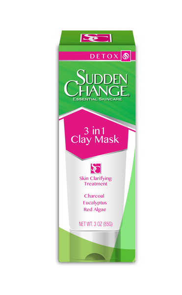 Sudden Change 3 In 1 Clay Mask