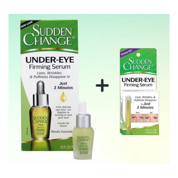 Sudden Change Under Eye Firming Serum + FREE Purse Size