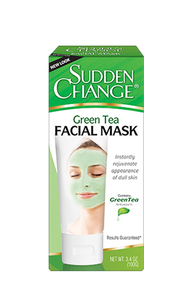 Sudden Change Green Tea Facial Mask