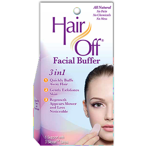 Hair Off Facial Buffer