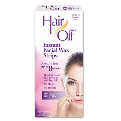 Facial Wax Strips | fast and easy hair removers