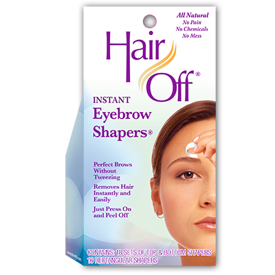 Hair Off Hair Removal Hair Off Instant Eyebrow Shapers
