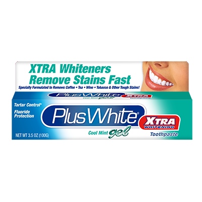 Plus White Xtra Whitening Gel Toothpaste