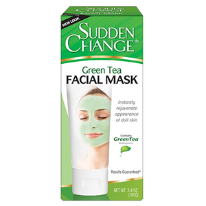 Sudden Change Skin Care Green Tea Facial Mask