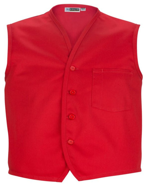 Apron vest with breast pocket - Fashion Designz Uniforms