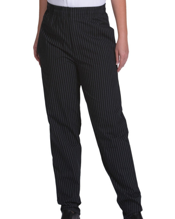 Ultimate Baggy Chef Pant Pinstripe Design - Fashion Designz Uniforms
