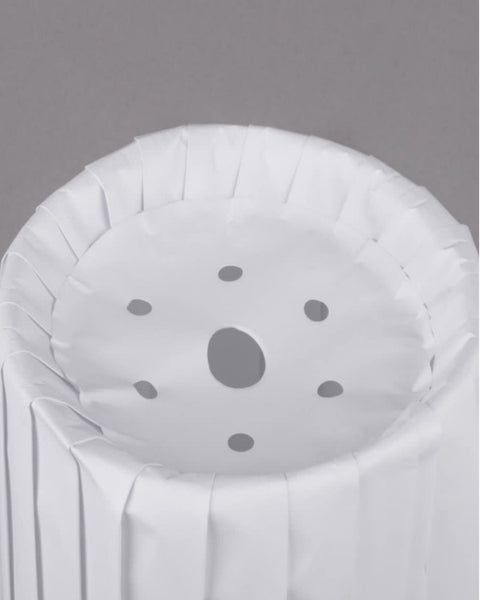 "Pleated Paper Disposable Chef Hat 12""/Pack of 12"