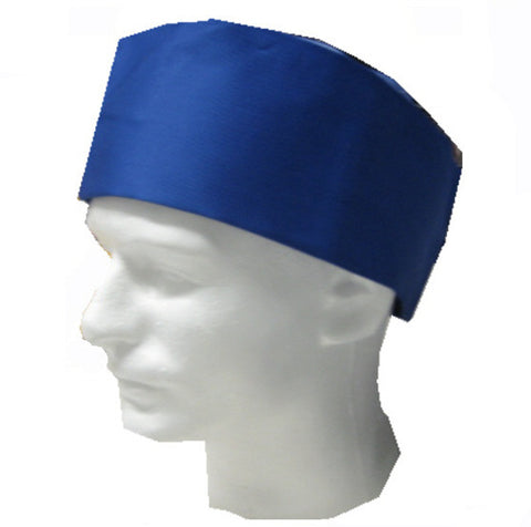 Chef Mesh Top Skull Hat Blue Color - Fashion Designz Uniforms
