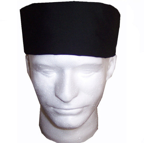 Chef Mesh Top Skull Hat Black Color - Fashion Designz Uniforms