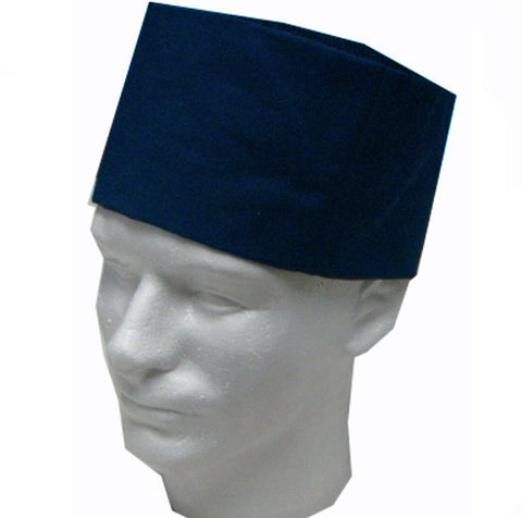 Chef Mesh Top Skull Hat Dark Blue Color - Fashion Designz Uniforms