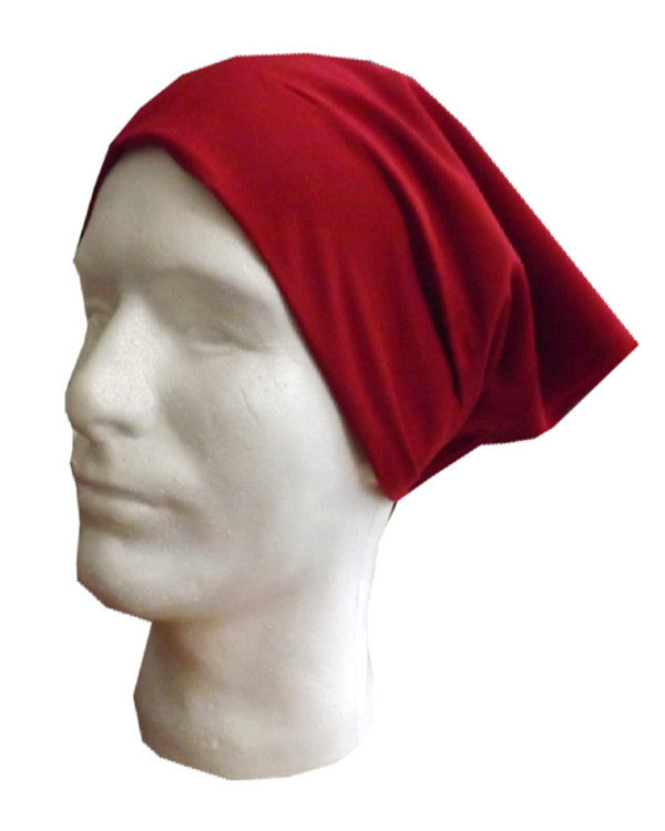 Adjustable Restaurant Server Head Wrap Red Color - Fashion Designz Uniforms