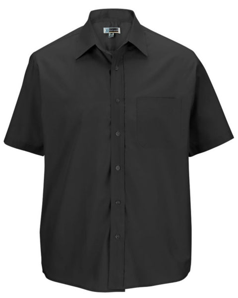 Men's Broadcloth Short Sleeve Shirt - Fashion Designz Uniforms