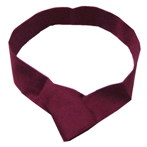 Chef Necktie without knot Burgundy Color - Fashion Designz Uniforms