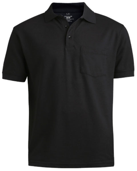 Unisex Soft Touch Blended Pique Polo Shirt with Pocket - Fashion Designz Uniforms