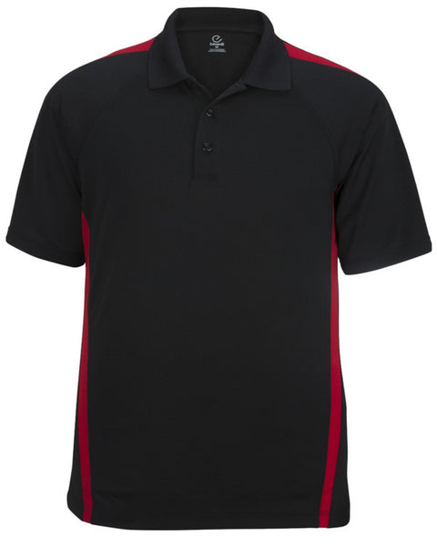 Men's Snag-Proof Color Block Polo Shirt