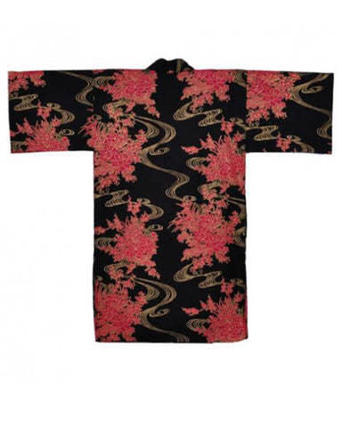 Japanese Robe Flowing Peony - Fashion Designz Uniforms