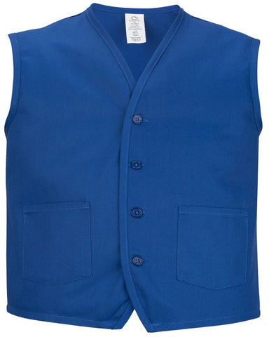 Unisex Apron Vest with waist pockets - Fashion Designz Uniforms